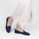 Moka voyage foldable loafers in suede leather midnight