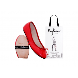 Intemporelles Box ballerinas