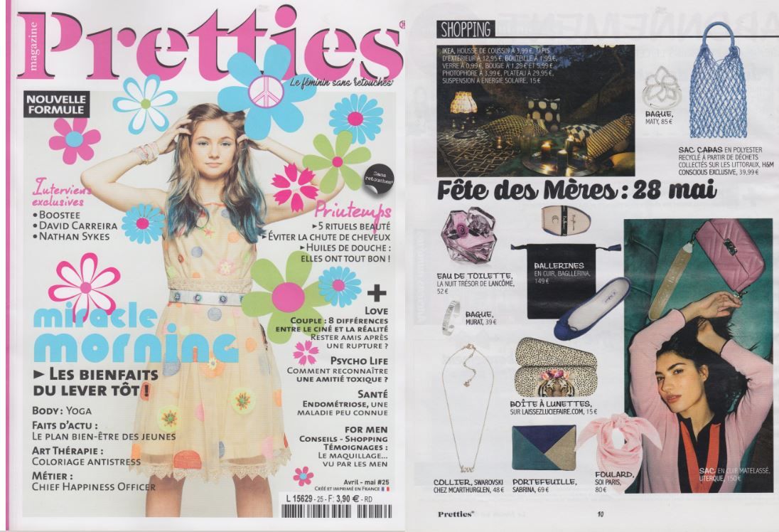 Pretties Avril 2017